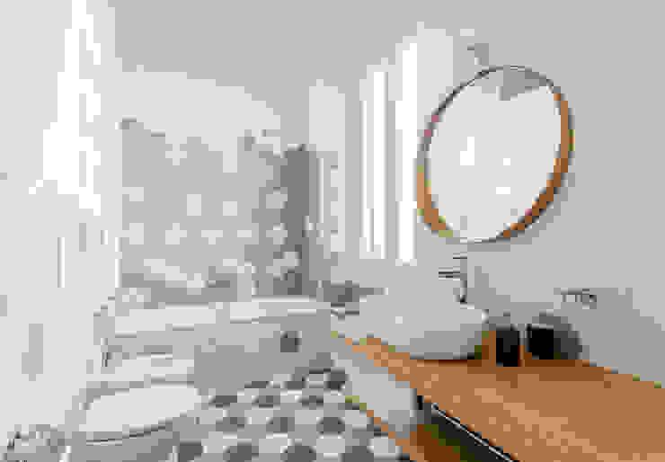 Angelo Talia 現代浴室設計點子、靈感&圖片