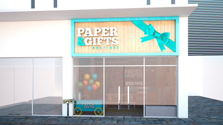 Paper and gifts boutique. Art.chitecture, Taller de Arquitectura e Interiorismo 📍 Cancún, México.