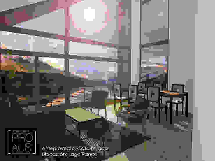 CASA MIRADOR Livings de estilo minimalista de Pro Aus Arquitectos Minimalista