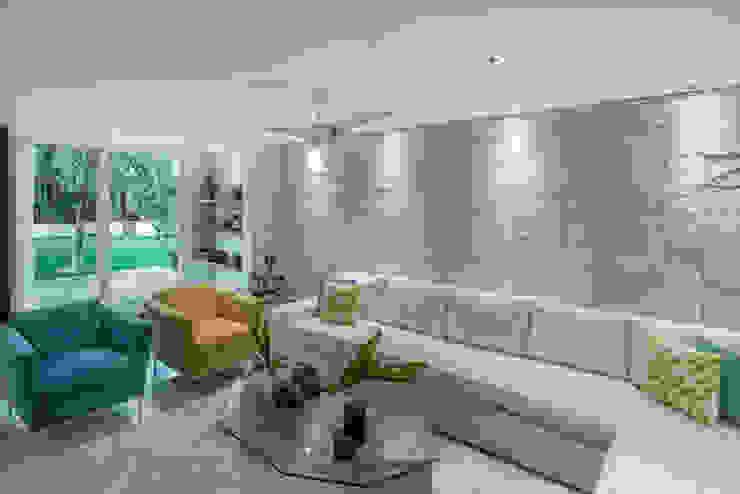 Art.chitecture, Taller de Arquitectura e Interiorismo 📍 Cancún, México. ห้องนั่งเล่น