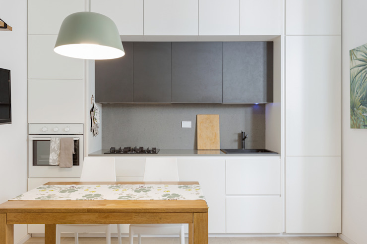 現代廚房設計點子、靈感&圖片 根據 Angelo Talia 現代風