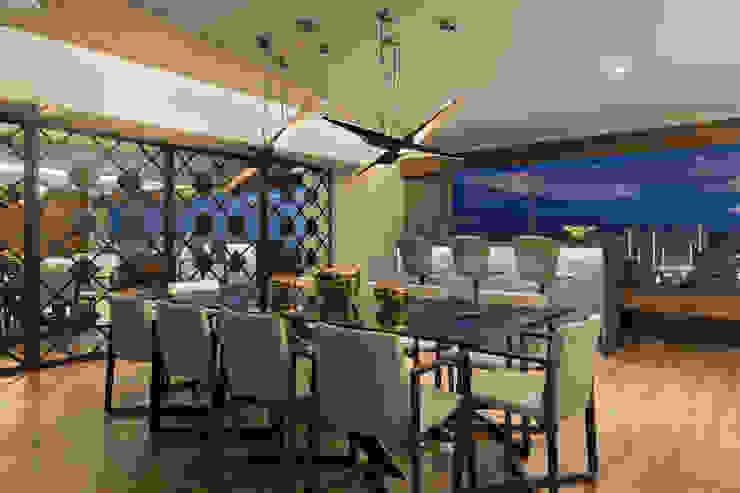 Salle à manger moderne par Art.chitecture, Taller de Arquitectura e Interiorismo 📍 Cancún, México. Moderne