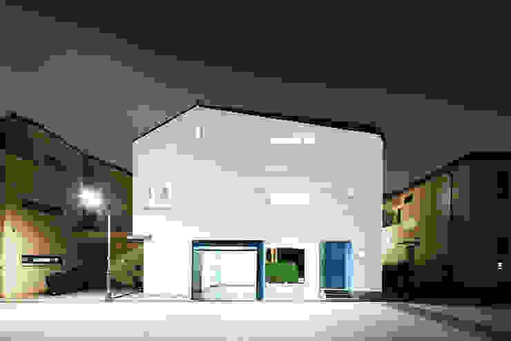 판교온당 프로젝트 모던스타일 주택 by 적정건축 모던