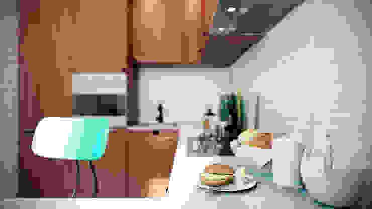 CO:interior Kitchen Brown