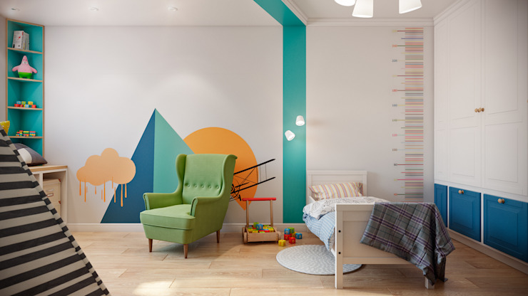 CO:interior Nursery/kid's room White