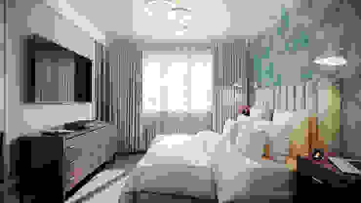 CO:interior Dormitorios de estilo ecléctico Beige