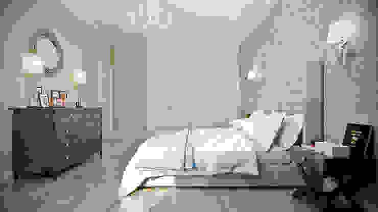 CO:interior Dormitorios de estilo clásico Beige