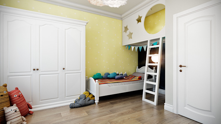 CO:interior Nursery/kid's room Yellow