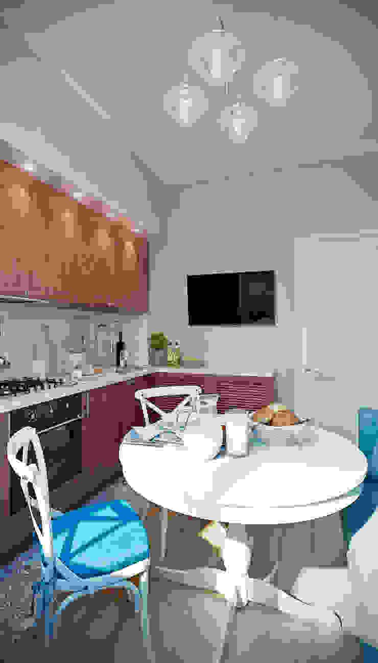 CO:interior Cocinas de estilo ecléctico Beige