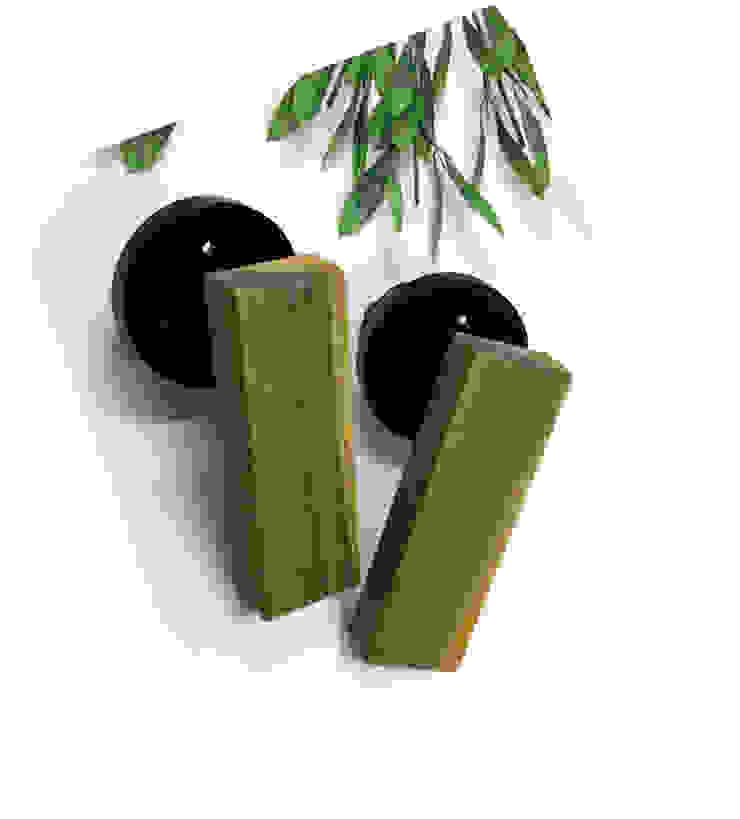 guaiac wood door handle: 아키인포의 현대 ,모던 우드 우드 그레인