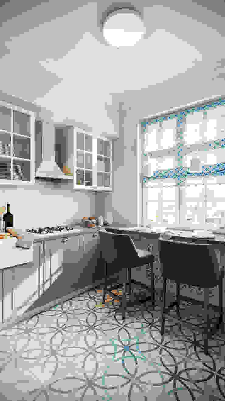 CO:interior Classic style kitchen Grey