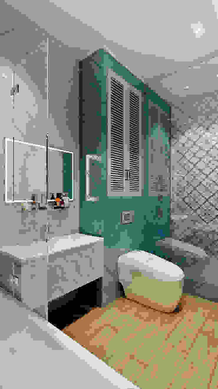 CO:interior Classic style bathroom Blue