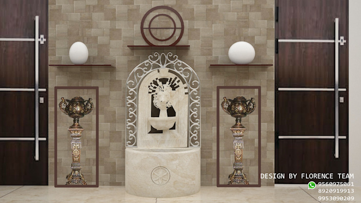 Wall Design : modern  by Florence Management Services  ,Modern Ceramic