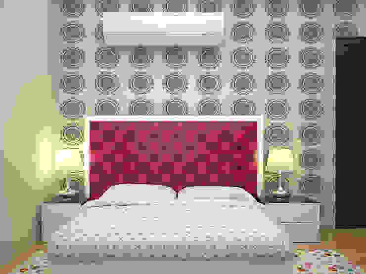 Master bedroom : modern  by Florence Management Services  ,Modern Engineered Wood Transparent
