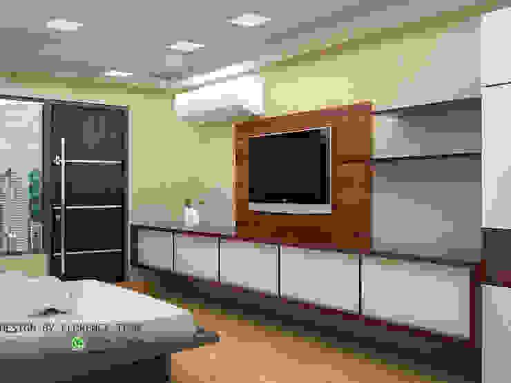 TV unit : modern  by Florence Management Services  ,Modern Engineered Wood Transparent