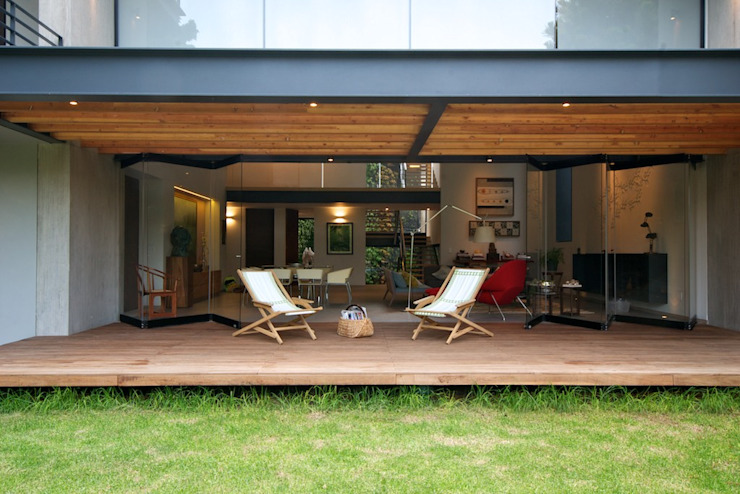 JACARANDAS HOUSE by Hernandez Silva Arquitectos Modern
