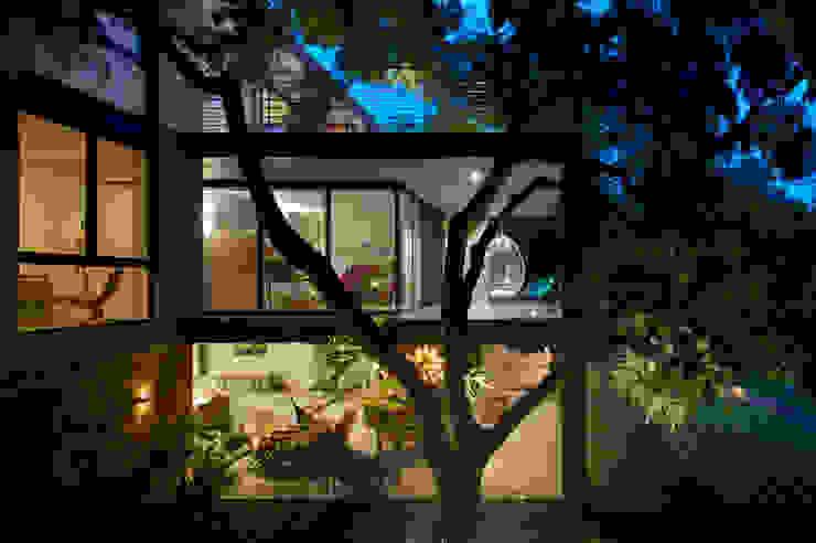 Casas de estilo  de Hernandez Silva Arquitectos, Moderno