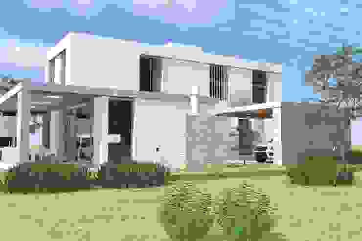 Modern houses by Arquitectura Bur Zurita Modern