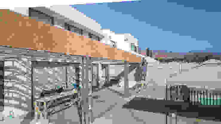 TERRAZA MEDITERRANEA Casas de estilo mediterráneo de homify Mediterráneo