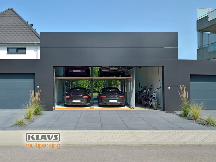 KLAUS MULTIPARKING COLOMBIA Modern garage/shed