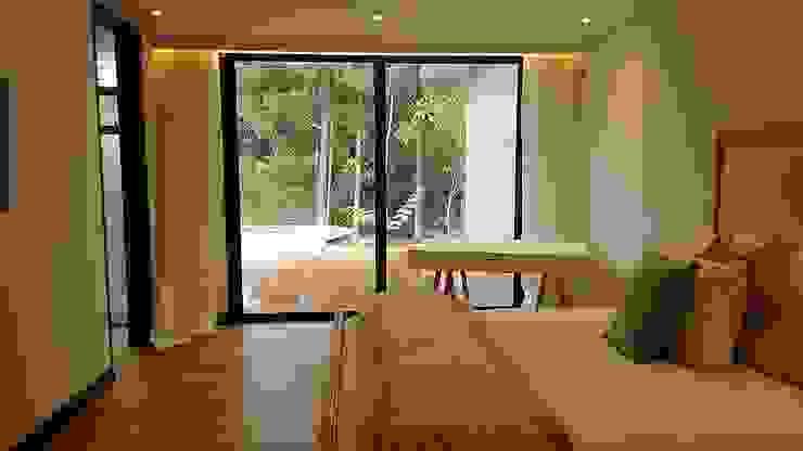 Dormitorios de estilo ecléctico de Espacios Positivos Ecléctico