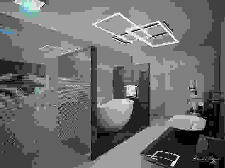 Baño Principal Baños minimalistas de Grupo ARK Minimalista Mármol