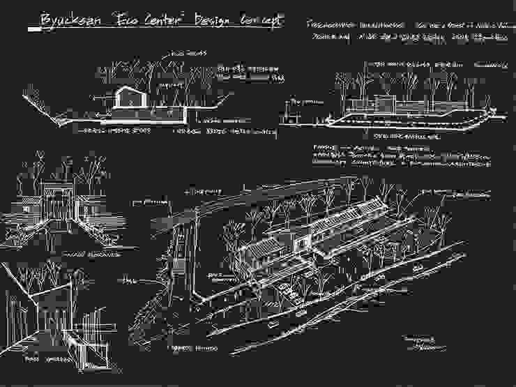 컨셉스케치 by (주)건축사사무소 예인그룹 모던 철근 콘크리트
