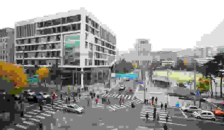 전경 by (주)건축사사무소 예인그룹 모던 철 / 철강