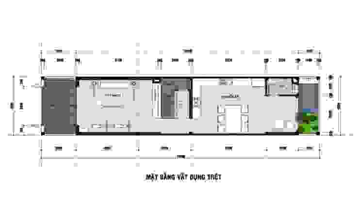 Aziatische huizen van Công ty TNHH TK XD Song Phát Aziatisch Koper / Brons / Messing