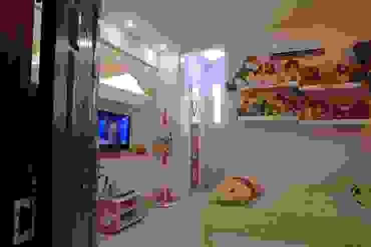 Aziatische slaapkamers van Công ty TNHH TK XD Song Phát Aziatisch Koper / Brons / Messing