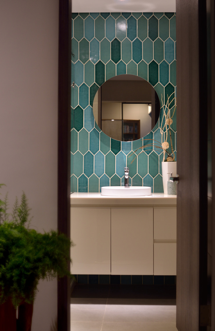 Salle de bain moderne par 星葉室內裝修有限公司 Moderne