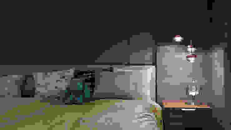 Chambre moderne par 星葉室內裝修有限公司 Moderne