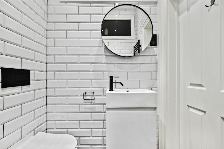 Baños de estilo  por BathroomsByDesign Retail Ltd, Moderno