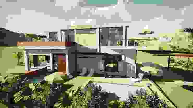 Casa Moncada de Arquitectura su c Moderno Concreto
