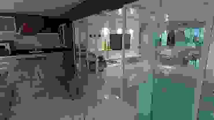 Modern living room by Eduardo Torres Arquitetura e Design Modern