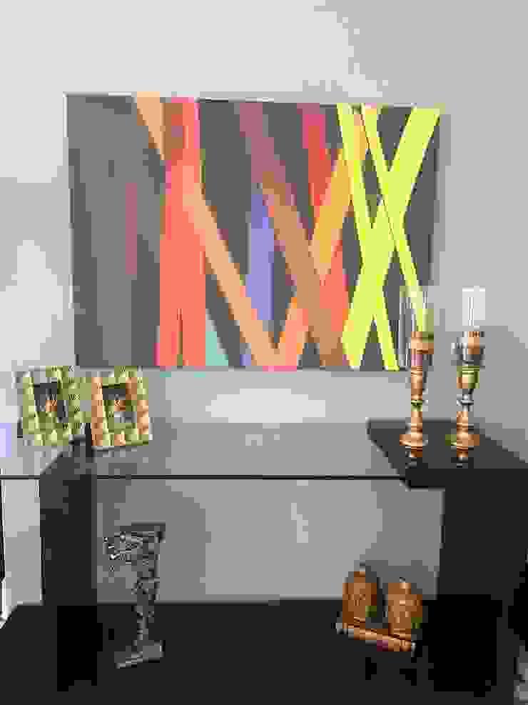 de Sgabello Interiores Moderno Derivados de madera Transparente