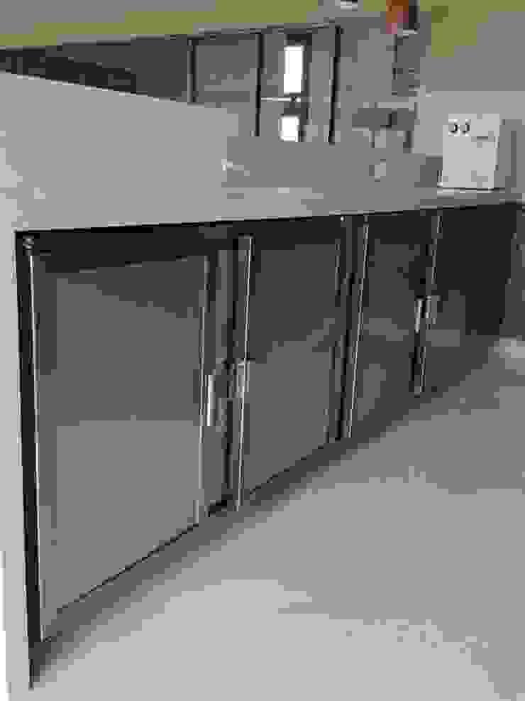 EDR - Adegas Climatizadas Kitchen units Iron/Steel Metallic/Silver