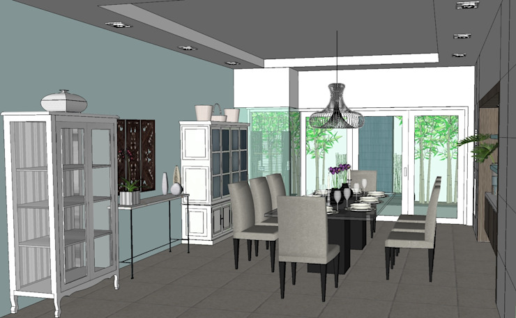 2011 PROJECTS Modern dining room by MKC DESIGN Modern