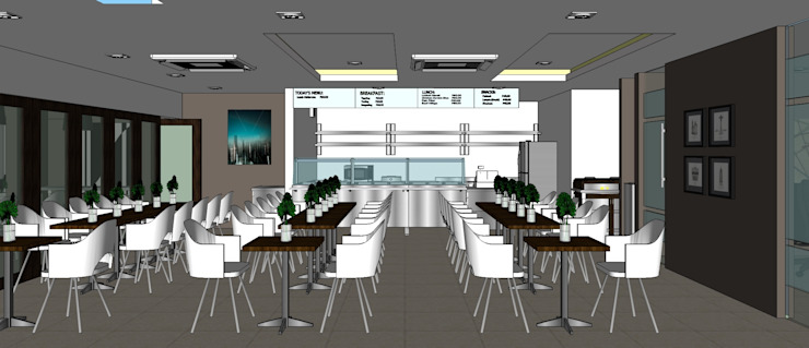 2012 PROJECTS Modern dining room by MKC DESIGN Modern