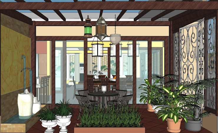 2012 PROJECTS Modern style gardens by MKC DESIGN Modern