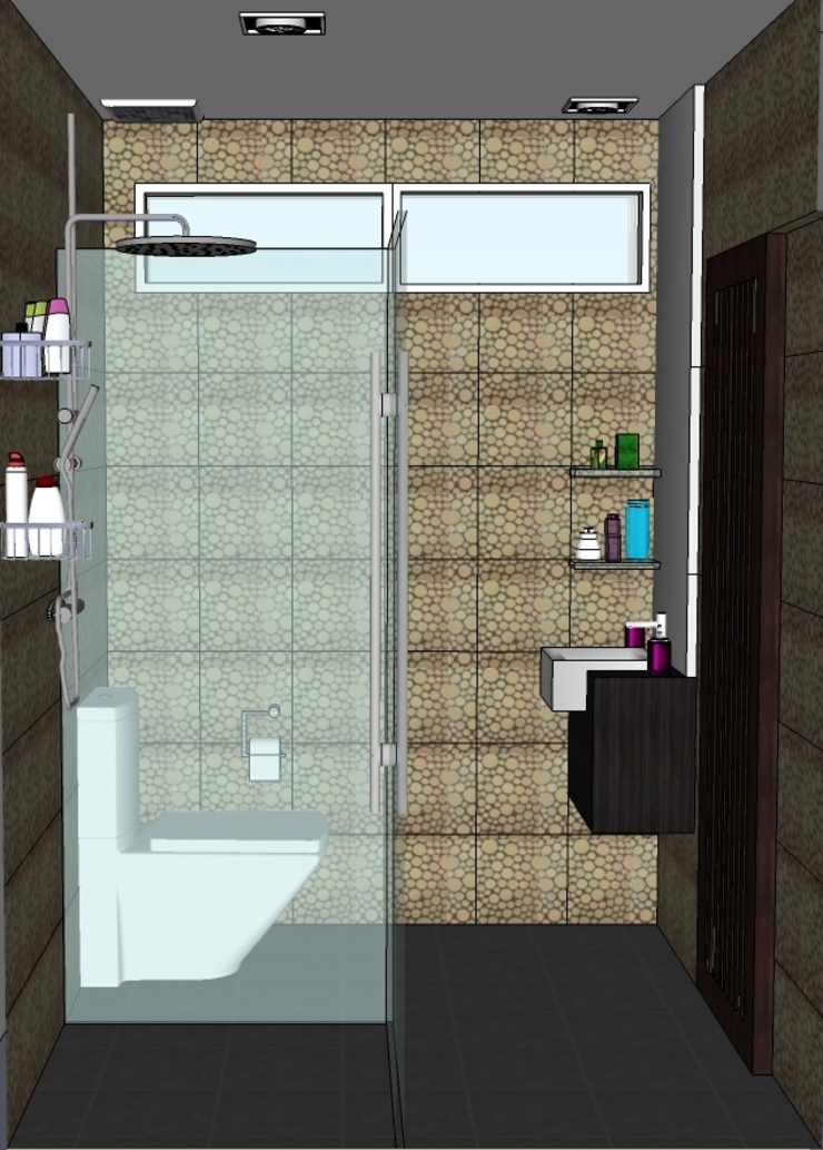 2012 PROJECTS Modern bathroom by MKC DESIGN Modern