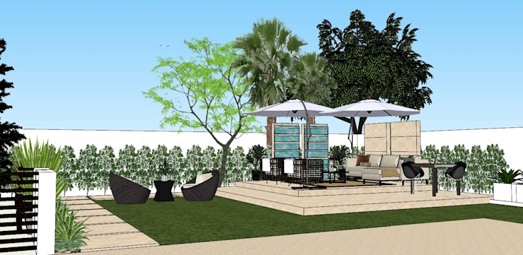 2013 PROJECTS Modern style gardens by MKC DESIGN Modern