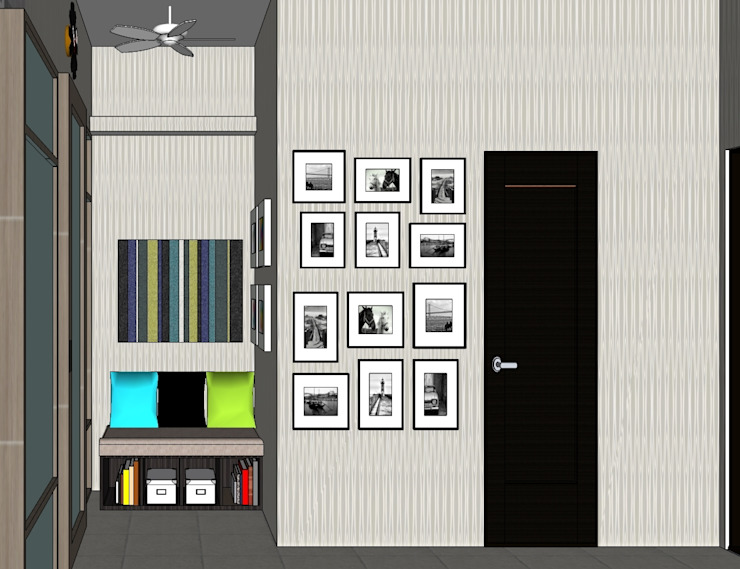 2014 PROJECTS Modern style bedroom by MKC DESIGN Modern