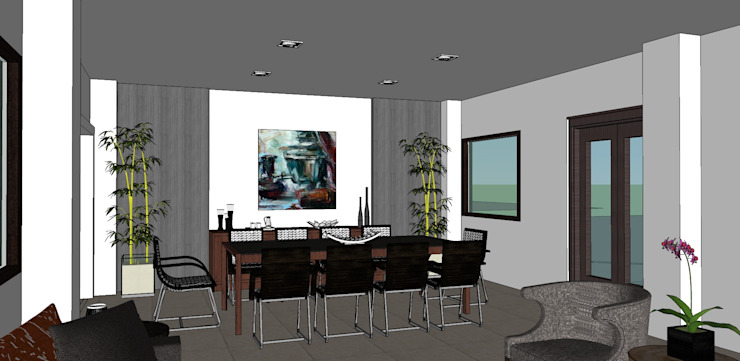 2014 PROJECTS Modern dining room by MKC DESIGN Modern