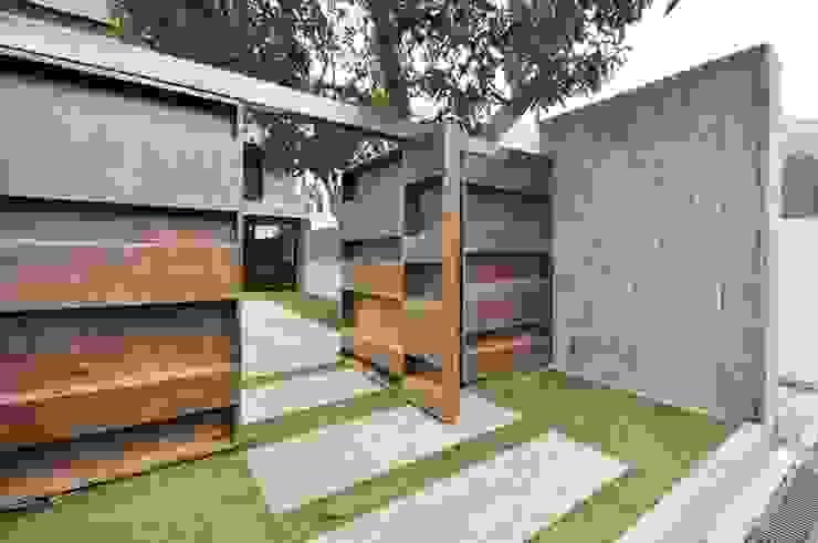 Garden gate by Nomad Office Architects 覓 見 建 築 設 計 工 作 室 Modern Metal