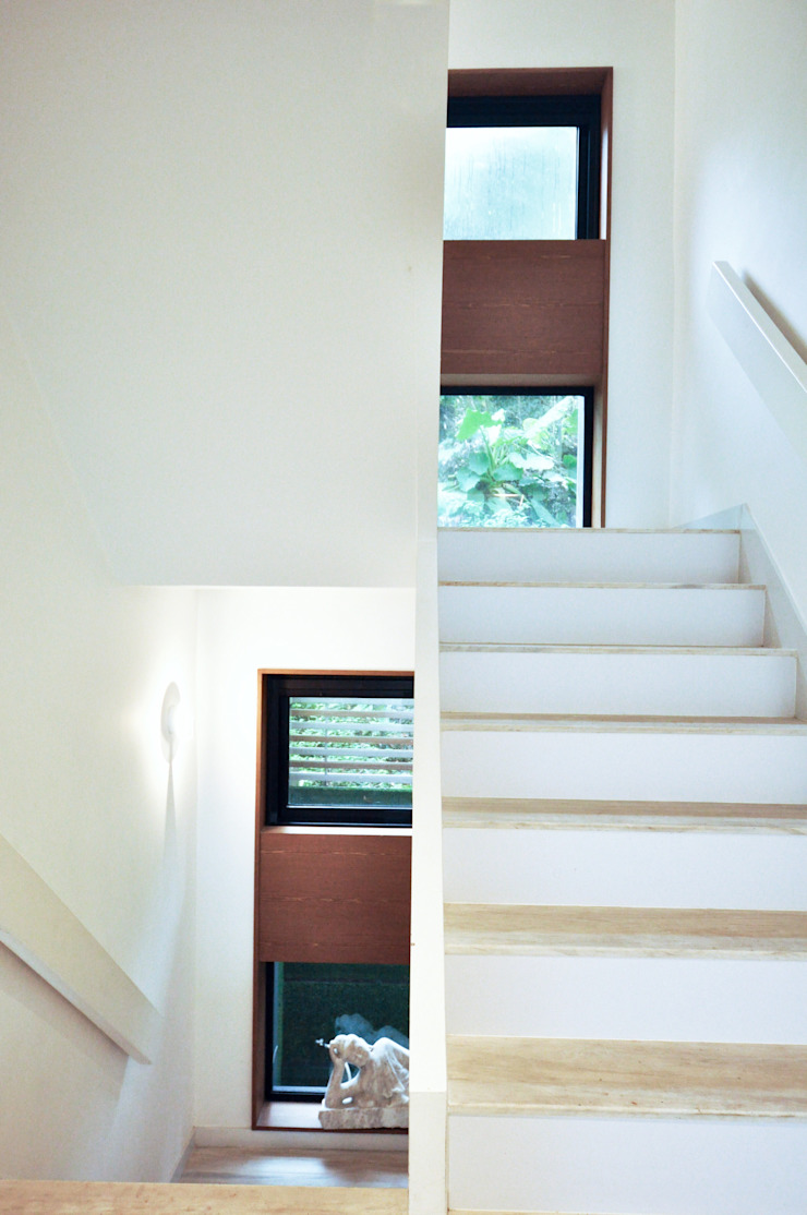 Stairs by Nomad Office Architects 覓 見 建 築 設 計 工 作 室 Modern Wood Wood effect
