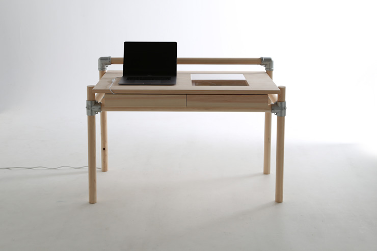 CONSENTABLE Study/officeDesks Kayu Wood effect