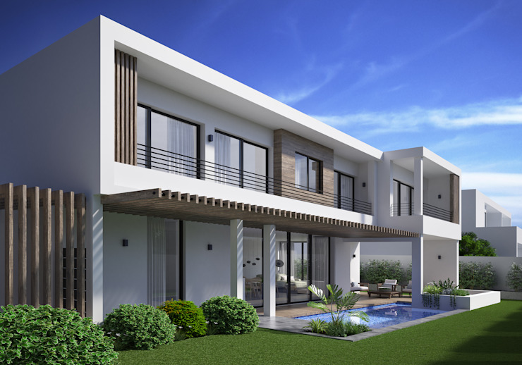 The Arin Modern houses by Cleo Architecture Studio Modern Wood Wood effect