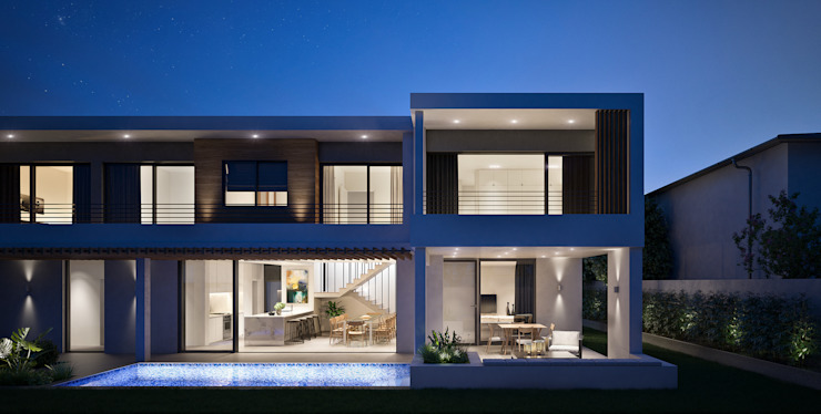 The Arin Modern houses by Cleo Architecture Studio Modern