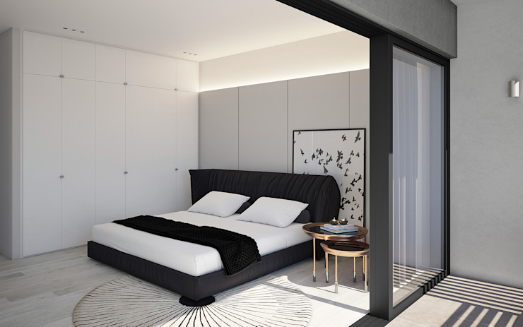 Modern style bedroom by Cleo Architecture Studio Modern